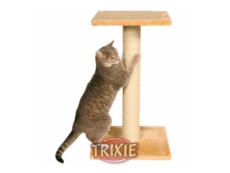 Trixie Espejo #Kratzbaum beige. Dieser Kratzstamm ist besonders wichtig für jede Katze, sich ihre Krallen daran wetzen zu können. Eine Liegeetage sorgt für das Relaxen nach der Krallenpflege.