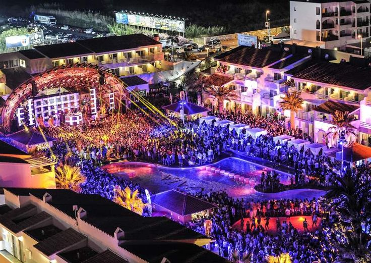 NIGHTCLUB. Ibiza,Party Capital of the World