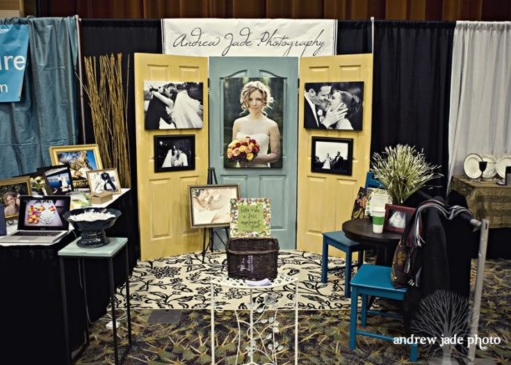 wedding show booth ideas great idea to use doors as our back drop to showcase