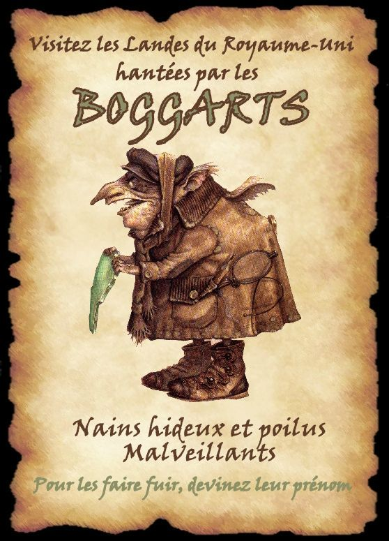 affiche boggarts