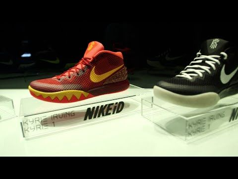KYRIE 1 - Nike signature shoe designer Leo Chang one on one   Sports Illustrated - YouTube