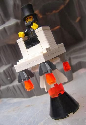 Toyriffic: LEGO Abe Lincoln's Space Chair :: Happy President's Day!