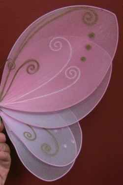 Fairy girls ;) -Instructions on how to make your own fairy wings... -layered fairy wings, photo by Relache