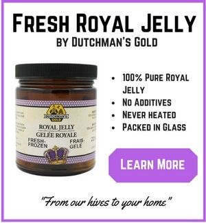 How to take royal jelly including how much to take and when direct from the Beekeeper's Daughter.