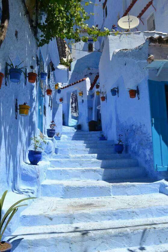 The Blue City, Morocco