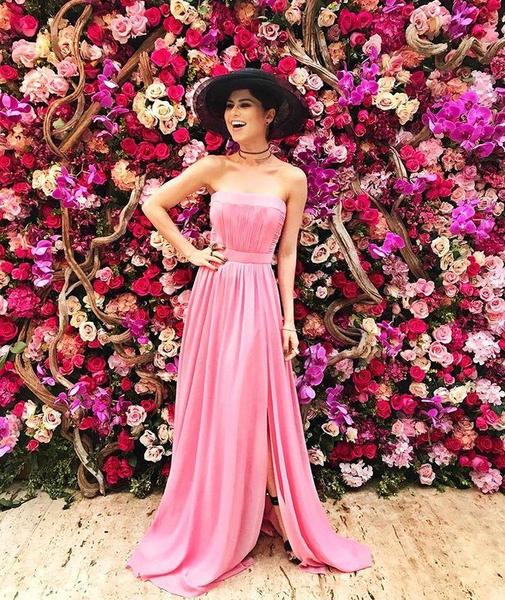 60 best Vestidos de Festa images on Pinterest | Evening gowns ...