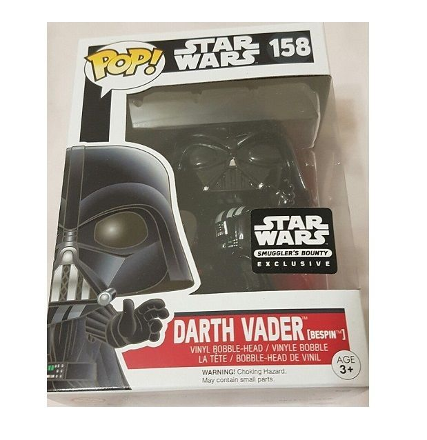 Funko Pop STAR WARS Darth Vader Bespin RED SABRE VARIANT #158 SMUGGLERS BOUNTY