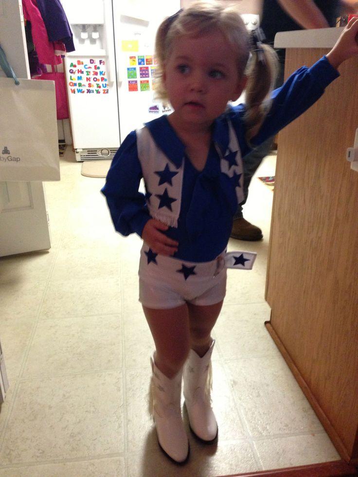 Dallas Cowboys Cheerleader Halloween Costume- etsy.com