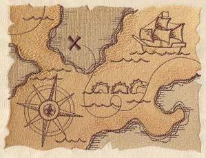 Pirate Treasure Map_image