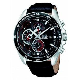 Alba AM3041X1 Gents Watch - Leather Strap