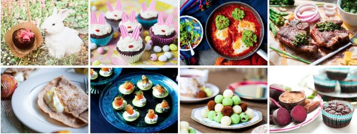 A compilation of Hemsley + Hemsley recipes for a very happy Easter. Explore them all!