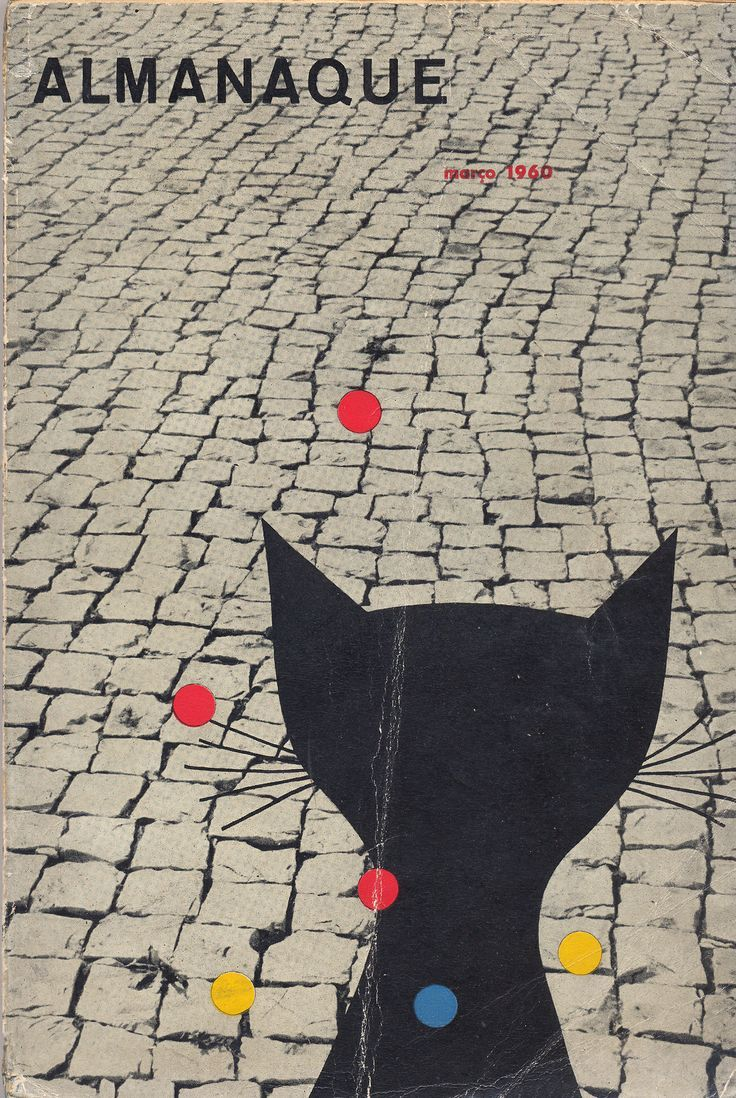 Almamaque | March 1960 | Cover bySebastião Rodrigues