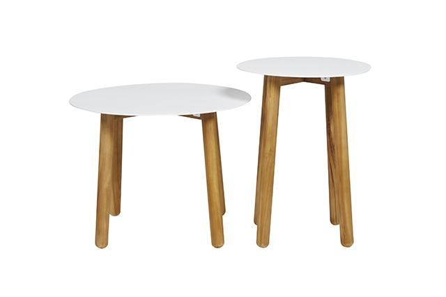 GlobeWest - Aperto Round Side Tables