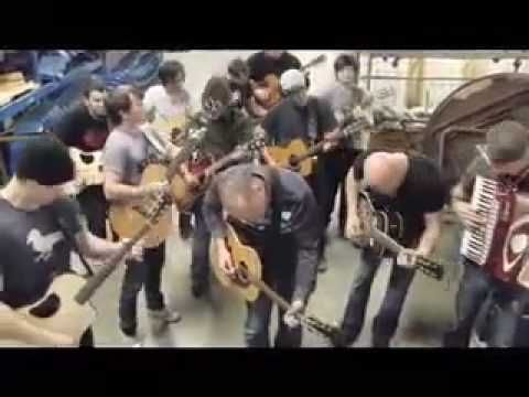 """MercyMe, Jeremy Camp, Mike Donehey, John Reuben and Crew singing Bon Jovi's """"Dead Or Alive"""" The best part is the random bridge from """"Jesus is Just alright with Me""""- haha!"""