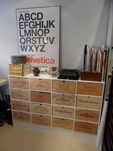 Love this perfect wine crate cabinet by casa di aria diy for Wine crate furniture
