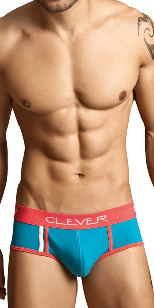 Clever Color Piping Brief $27.00