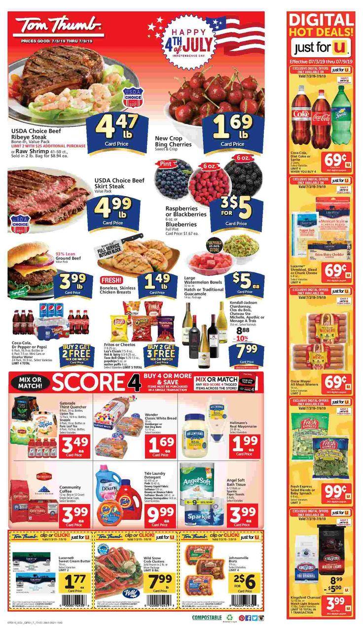 Tom Thumb Weekly Ad Flyer 03/11/20 03/17/20 Weekly ads