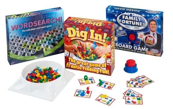 Giveaway £60 Family Games Bundle from Drumond Park