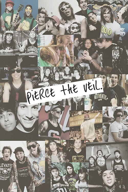 pierce the veil in all its glory<3 but seriously vic fuentes is omg