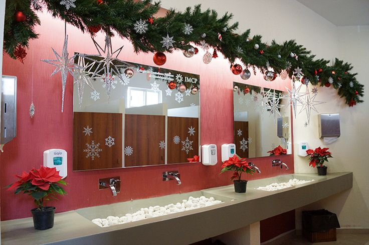 Christmas corporate offices decorating / Ideas para decorar oficinas en Navidad / casahaus.net
