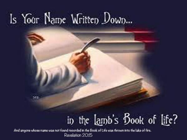Revelation 20 15 anyone whose name was not found written for The book of life characters names