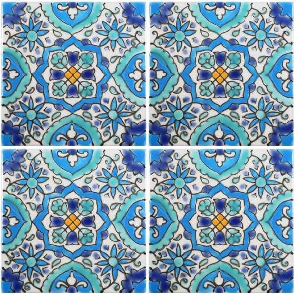 Mediterranean tile (pool, stairs, planters)