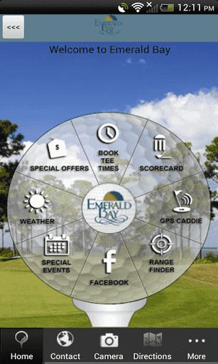 Do you enjoy playing golf at Emerald Bay Golf Club in Florida?  The OFFICIAL Emerald Bay Golf Club app, developed by AGN Sports in conjunction with GolfSwitch, gives golfers a free, easy to use, interactive combination of comprehensive course information, GPS positioning, digital scorecard, augmented reality range finder, and various other useful club-specific features.<p>GPS CADDIE<br>- Instantly view distances to the tee, front, back, and middle of the green, as well as par for each…