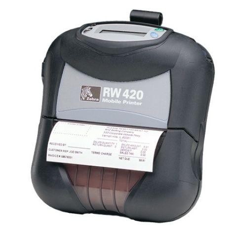 Zebra Mobile RW420 4INCH 8MB USB BELT CLIP BT Label Printer http://www.shopprice.com.au/latest+mobile+label+printers
