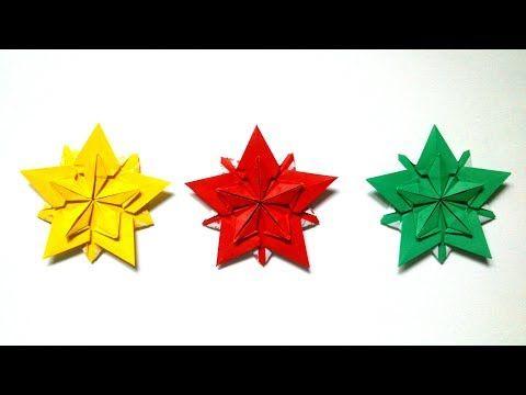 Sakura Stars (Ali Bahmani). Origami Tutorial. - YouTube