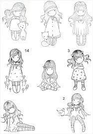 Resultado de imagen para dibujos  de gorjuss girl para imprimir