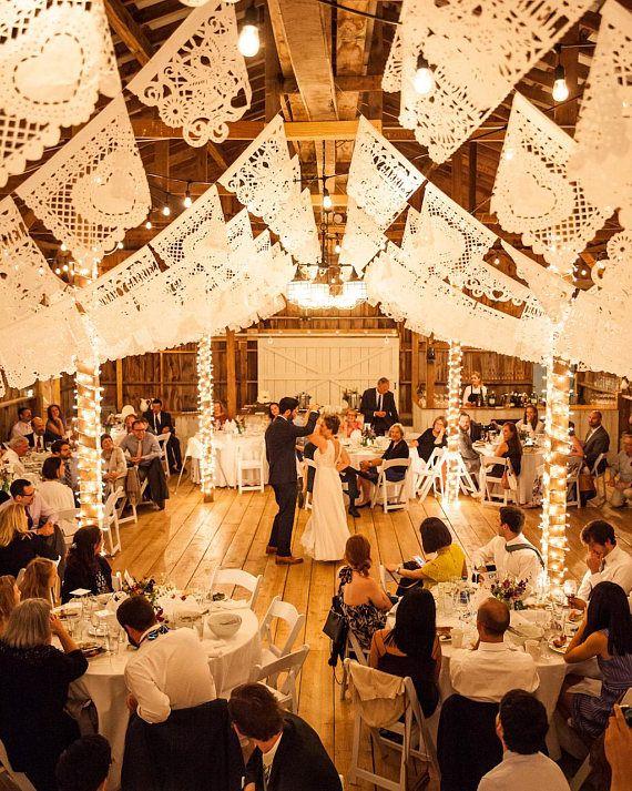 Personalised Wedding Decorations White Bunting Personalised
