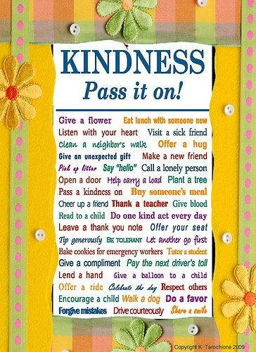 Kindness...pass it on!: Kind Cars, Big Dreams, Picture-Black Posters, Kids Stuff, Kind Pass, Fun Quotes, Kind Posters, Dreams Coming True, Counseling Stuff