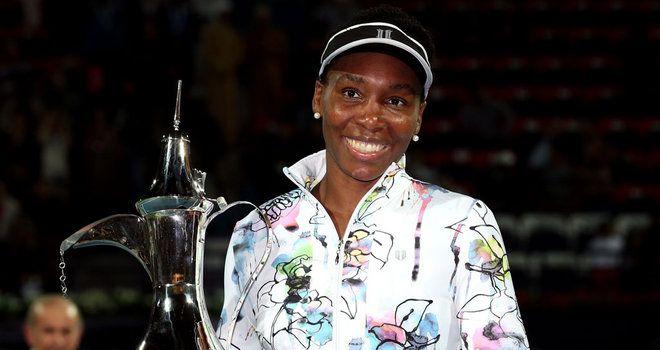 Dubai - Venus Williams beats Alize Cornet 6-3 6-0