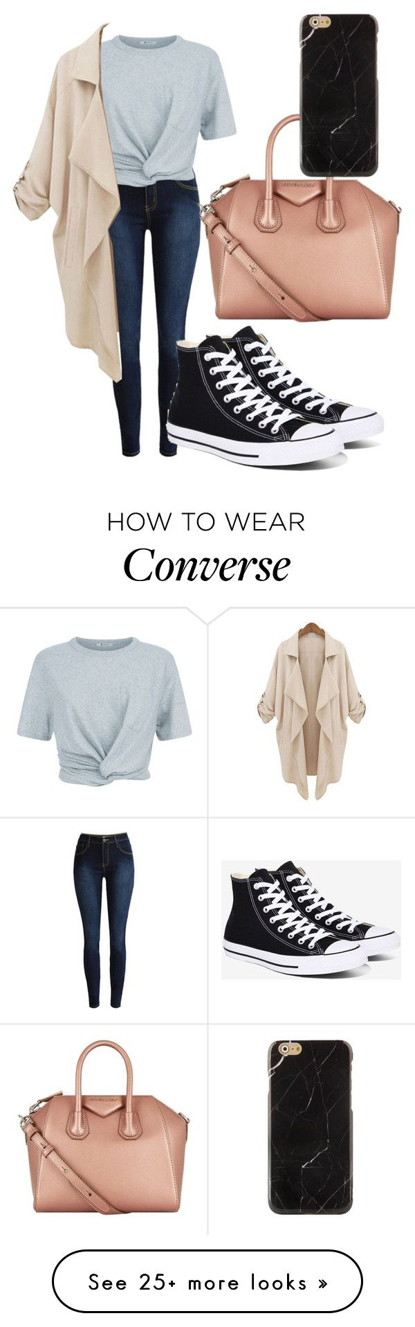 """""""Untitled #167"""" by ntone3 on Polyvore featuring T By Alexander Wang, Converse and Givenchy"""