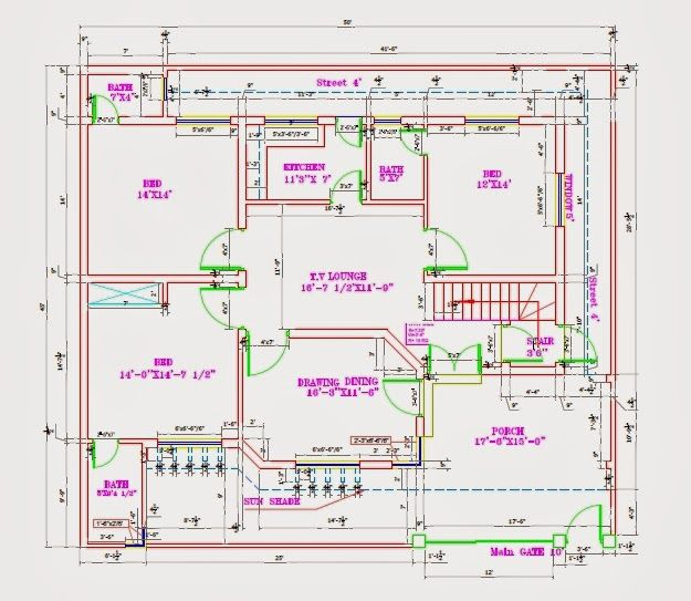 House Plan Before Starting Construction You Need A Good Map Plan A Plan That Fits For Your Requirement And For That House Map Duplex Floor Plans House Plans