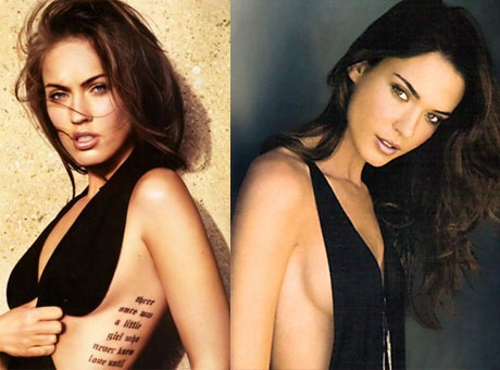 Odette Annable and megan fox