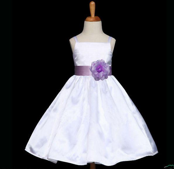 """Φορέματα για Παρανυφάκια - Επίσημα Φορέματα για Κορίτσια :: Πανέμορφο Αμάνικο Φόρεμα για βάφτιση, Παρανυφάκι, Πάρτι σε ΛΕΥΚΟ """"Tulisa"""" - http://www.memoirs.gr/"""