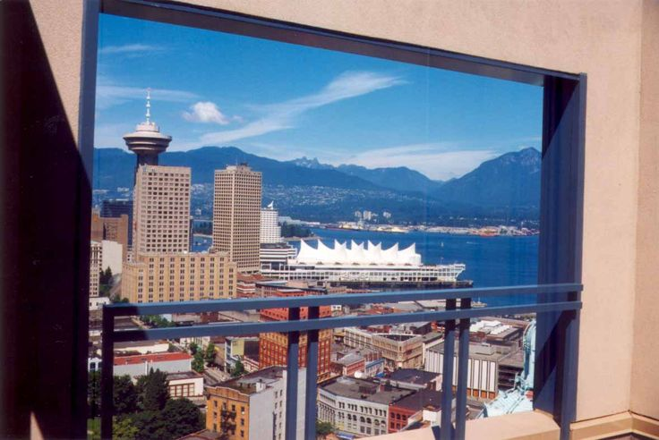 Downtown Vancouver, a view within a view.