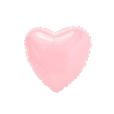 Balão Metalizado Coração Rosa Baby - Flexmetal