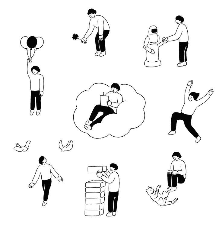 飛鳥新社『リストマニアになろう!』|装画・挿絵