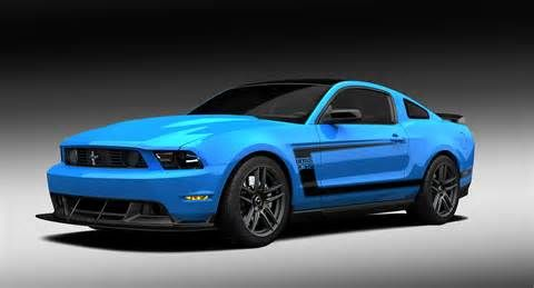 Bright blue mustangs are kind of my thing