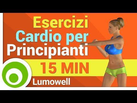 Esercizi Cardio per Principianti - Circuito a Basso Impatto per Perdere Peso - YouTube
