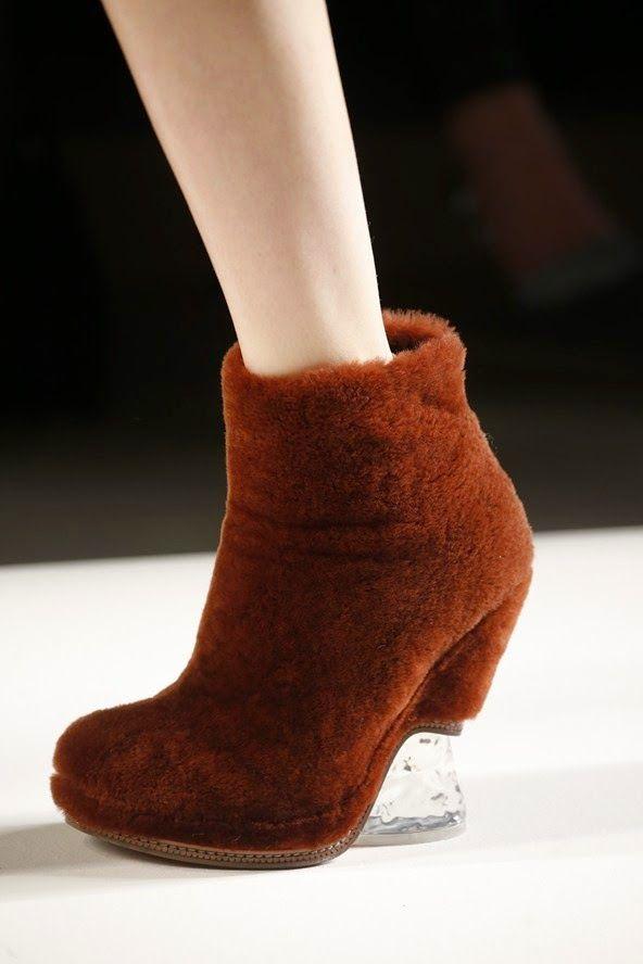 Fendi Zapatos, los Zapatos de Patricia - El Blog de Patricia : Un repaso a los zapatos de los defiles de MIlán a través de 7 tendencias para otoño 2015