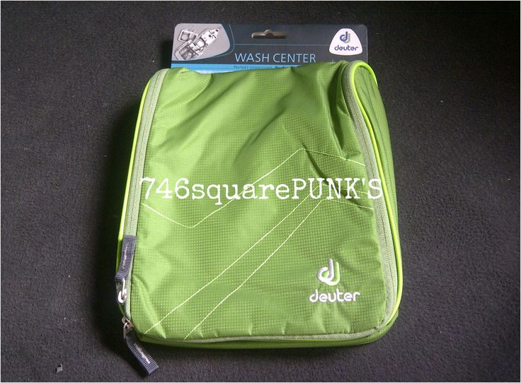FOR SALE!  #DEUTER Wash Center II Emerald Kiwi Color, also available : Black Titan, Midnight Turquoise, Papaya Lava Price : Rp. 350.000,- ( Include FREE SHIPPING all over Indonesia ) Condition : ORIGINAL, 100% Brand New With Tag  Follow : · Twitter : @746squarepunk_S · IG : @746squarepunks  Orders : · Phone : +62856 11 746 13 ( Message Only. ) · Line : 746squarepunks_INA · E_mail : 746squarepunksstore@gmail.com  #746squarepunks #Jakarta #INDONESIA #Punk #RockNRoll #Psychedelic #Blues