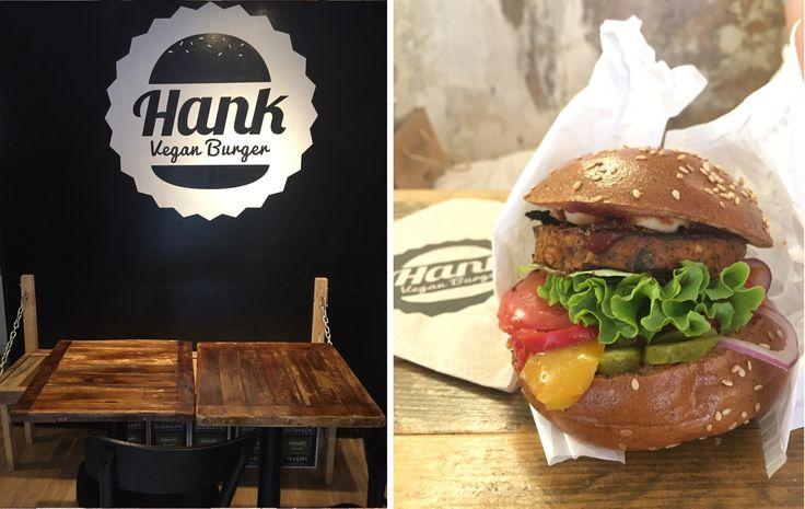 Hank Vegan Burger - My Gluten Free Food Tour in Paris