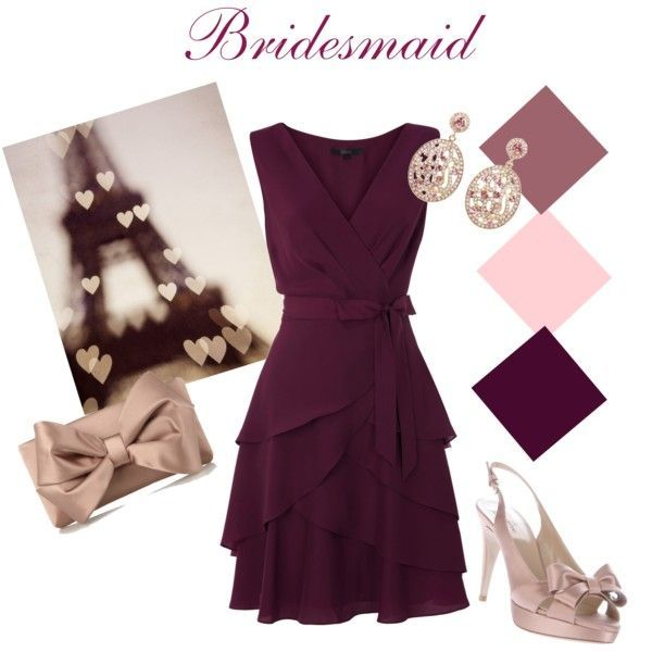 #Bridesmaid Collection # 2 #Mauve and #Rose