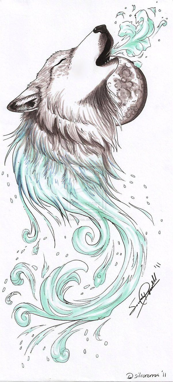 Best 25 Howling Wolf Tattoo Ideas On Pinterest