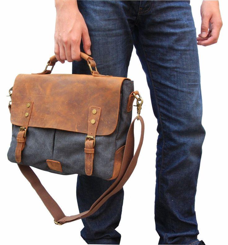 Laptop/computer leather bag