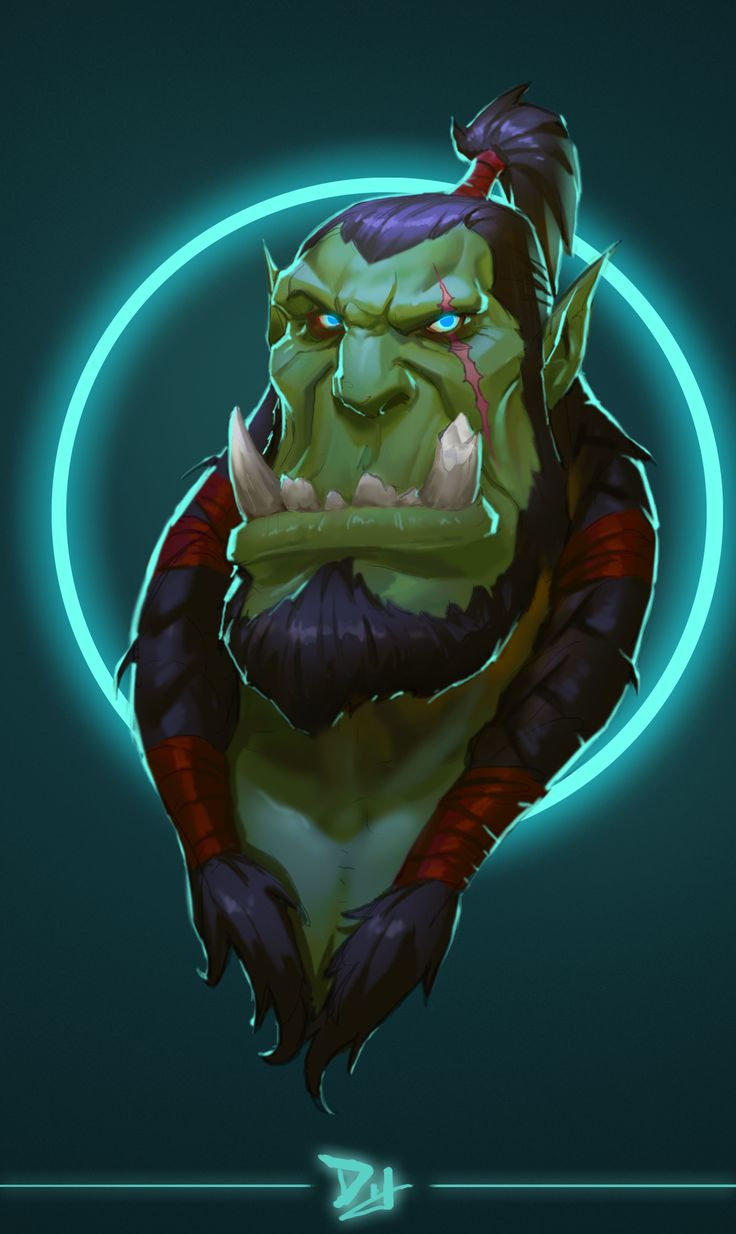 #warcraft #orc #thrall
