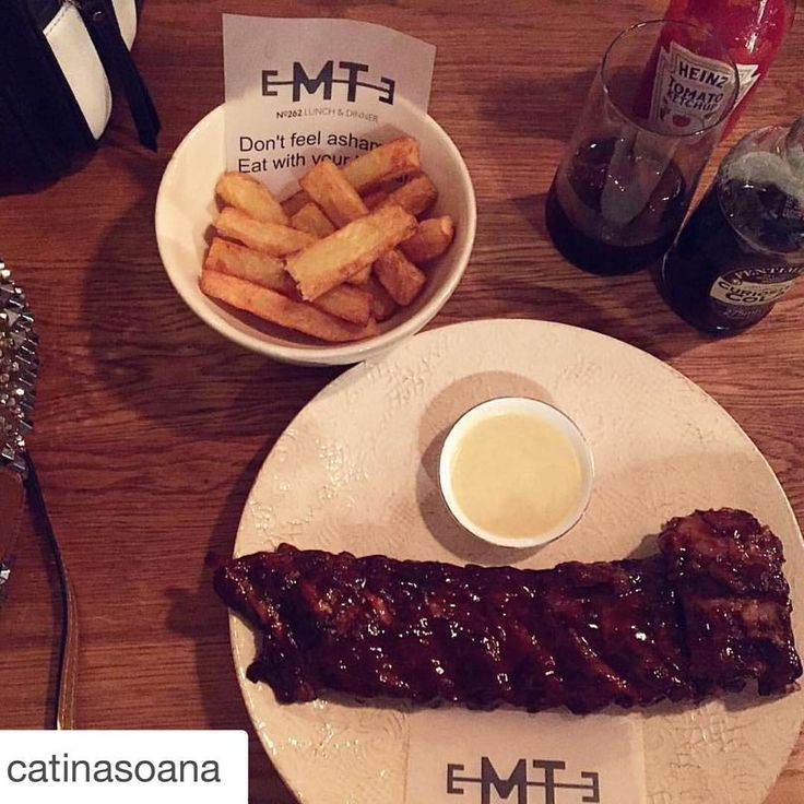 Ribs & Fries please!!! Curiosity Cola